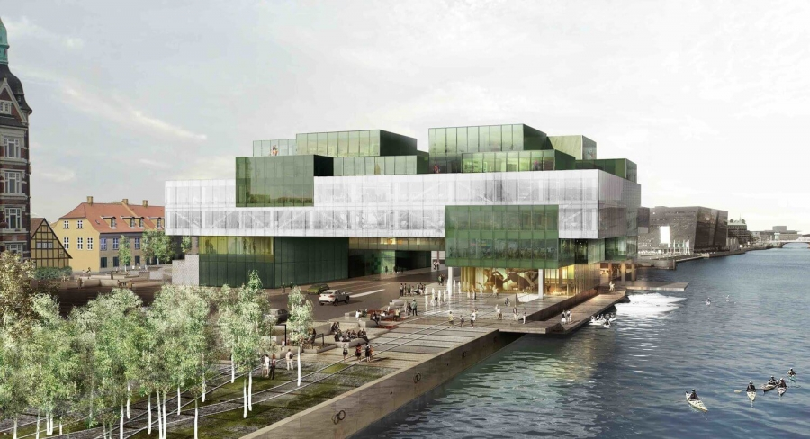 Blox - New Prestigous House in the Copenhagen Harbour